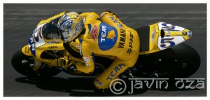 Colin Edwards at MotoGP, Laguna Seca