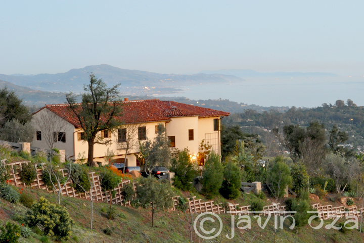 A house on the hill