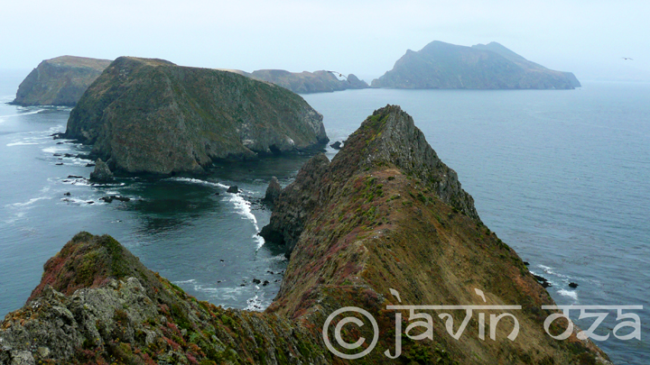 View from Anacapa Island